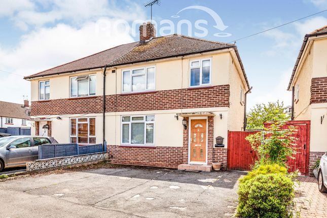 Thumbnail Semi-detached house to rent in Ennerdale Crescent, Burnham, Slough