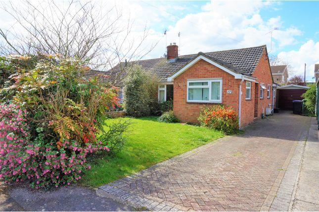 Thumbnail Semi-detached bungalow for sale in Kennet Close, Melksham