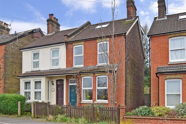 Thumbnail Semi-detached house for sale in Woodlands Avenue, Earlswood, Surrey