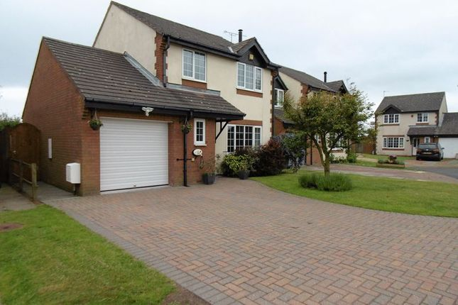 Thumbnail Detached house for sale in Manor Grange, North Broomhill, Morpeth