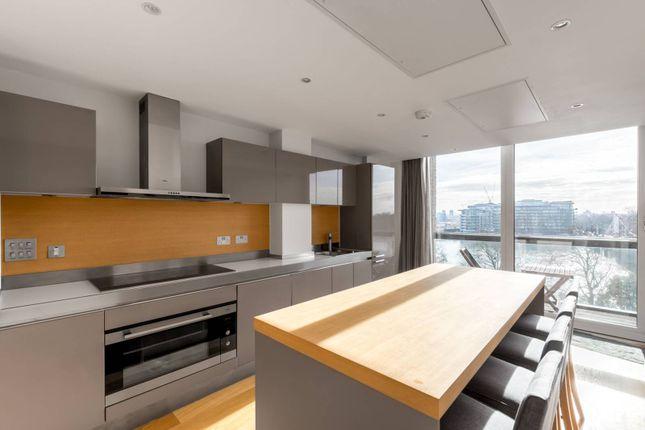 Thumbnail Flat to rent in Grosvenor Waterside, Belgravia