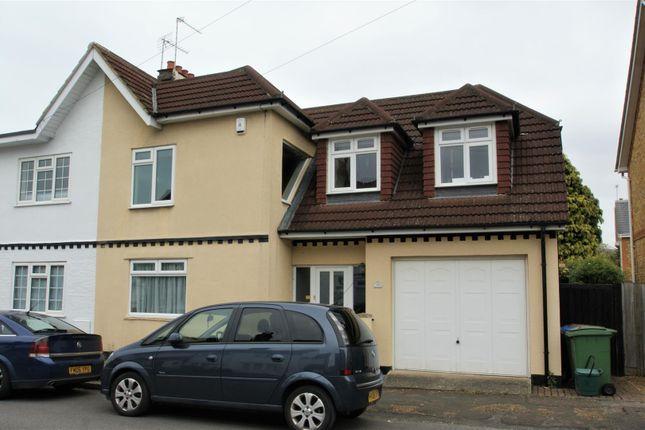 3 bed semi-detached house to rent in Primrose Road, Hersham, Walton-On-Thames KT12