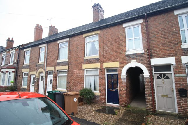 Terraced house for sale in Woodville Road, Overseal, Swadlincote