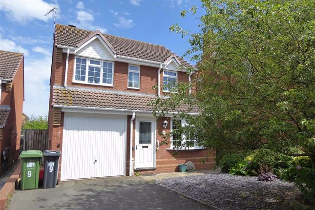 Thumbnail Detached house for sale in Lear Grove, Heathcote, Warwick