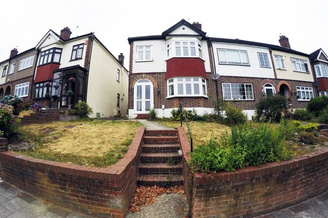 Thumbnail End terrace house to rent in Ridgeway Drive, Bromley