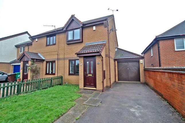 Thumbnail Semi-detached house to rent in Beechdale Road, Beechdale, Nottingham