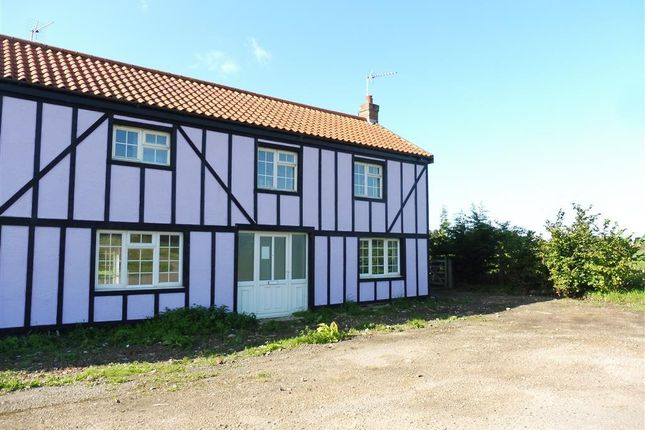 Thumbnail End terrace house to rent in Diss Road, Scole, Diss