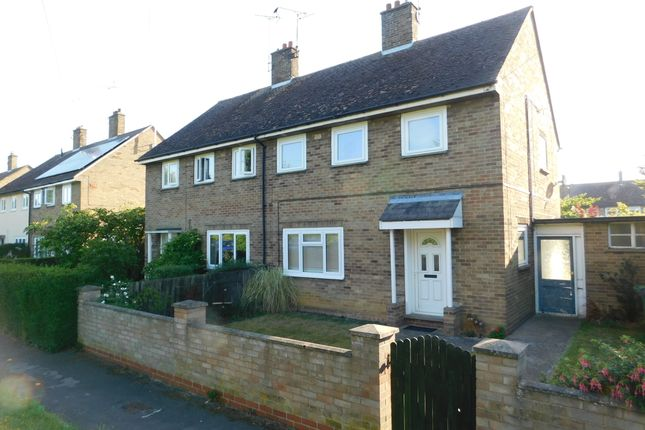Thumbnail Semi-detached house to rent in Welmore Road, Glinton, Peterborough