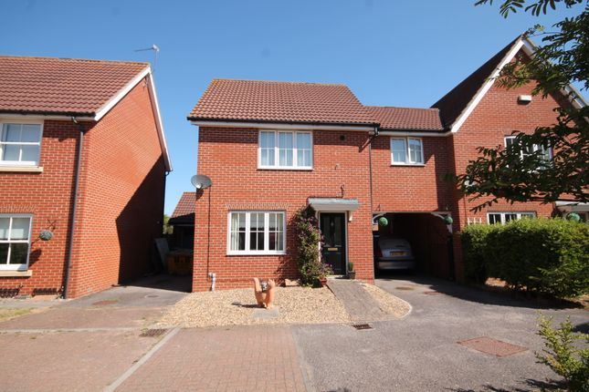Thumbnail Semi-detached house to rent in Rivendale, Carlton Colville, Lowestoft