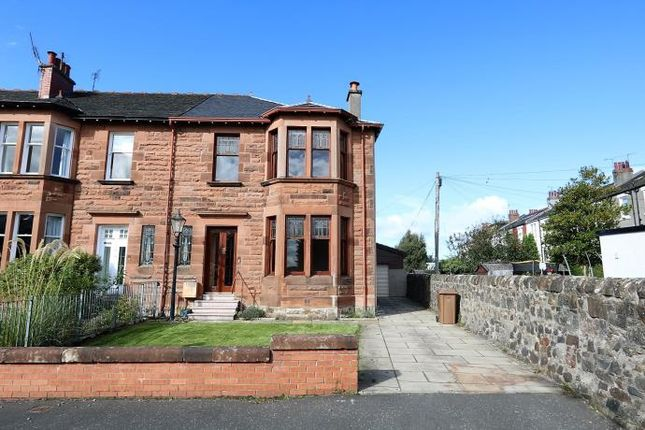 Thumbnail End terrace house to rent in Williamwood Park, Glasgow