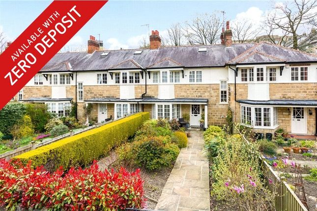 Thumbnail Terraced house to rent in St. Marys Walk, Harrogate, North Yorkshire