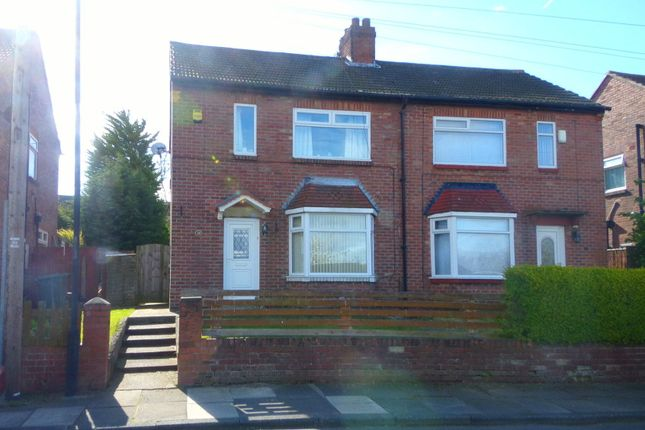 Thumbnail Semi-detached house for sale in Owen Brannigan Drive, Dudley, Cramlington