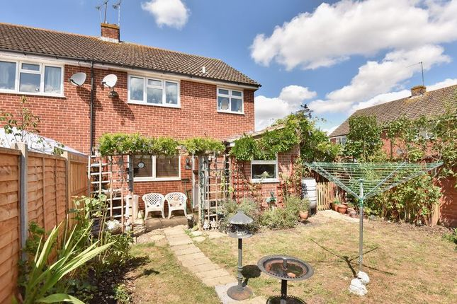 Thumbnail End terrace house for sale in Bow Drive, Sherfield-On-Loddon, Hook