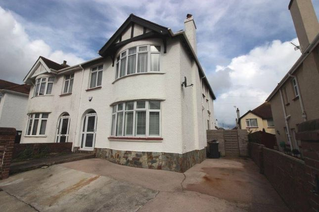 Thumbnail Semi-detached house for sale in Logan Road, Paignton