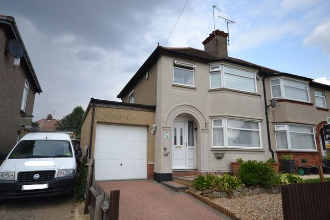 Thumbnail Semi-detached house for sale in Kingsway, Kingsthorpe, Northampton