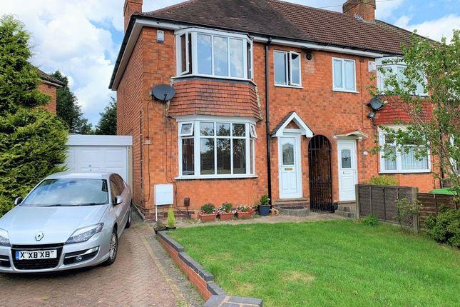 Thumbnail Semi-detached house for sale in Thurlestone Road, Longbridge, Northfield, Birmingham