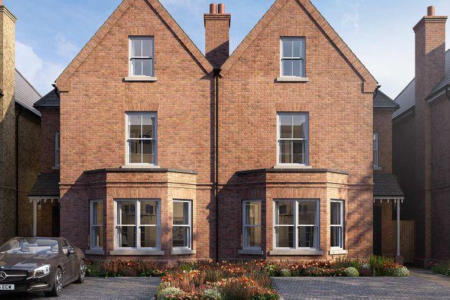 Thumbnail Semi-detached house for sale in Church Road, Richmond, London