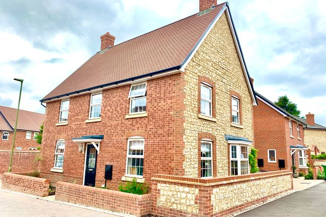 Thumbnail Detached house for sale in Harvest Drive, Petersfield