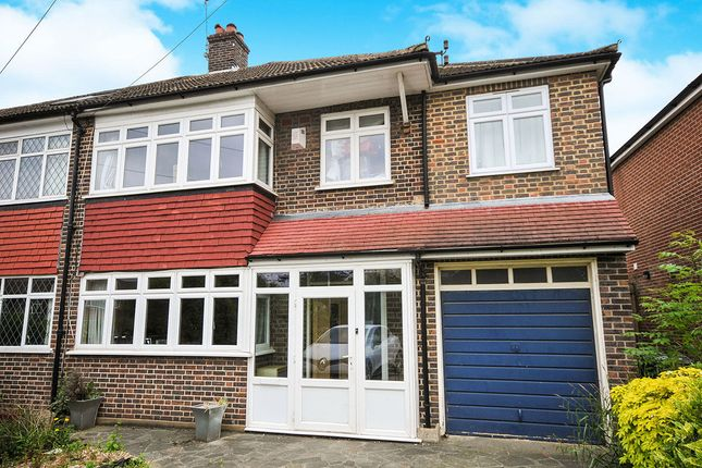 Thumbnail Semi-detached house to rent in Mead Way, Bromley