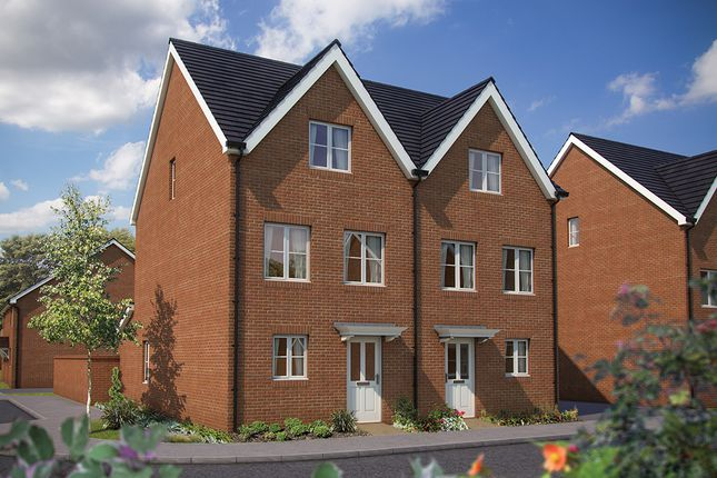 "4 bedroom semi-detached house for sale in ""The Harrogate"" at Appleton Way, Shinfield, Reading"