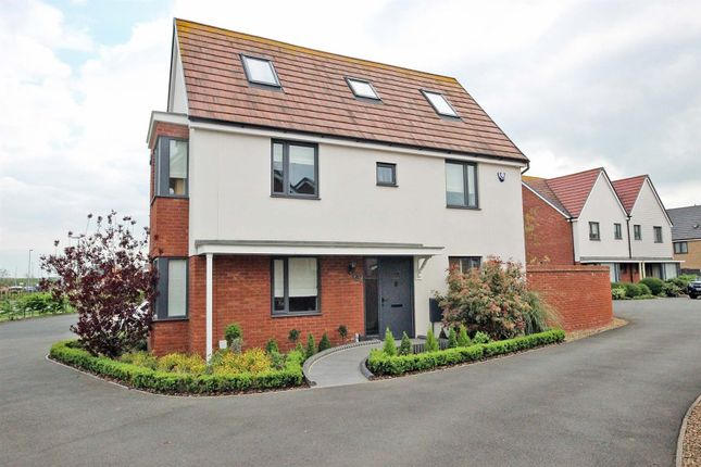 Thumbnail Detached house for sale in Ashpole Avenue, Wootton, Bedford