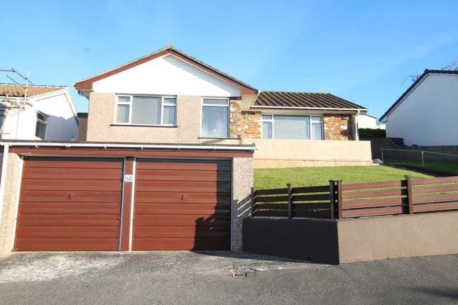 Thumbnail Detached bungalow for sale in St. Georges Road, Looe