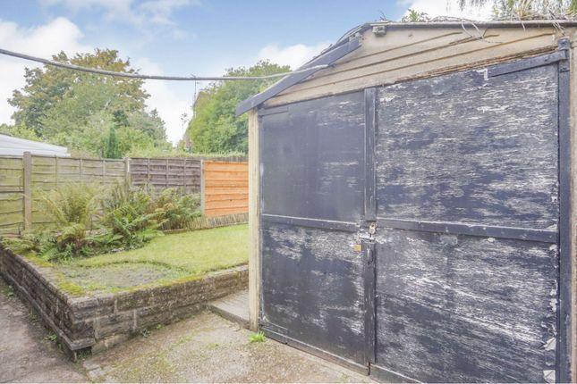 Garage of Park Lane, Whitefield, Manchester M45
