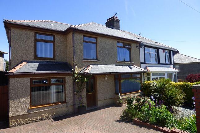 Thumbnail Semi-detached house for sale in Castle Street, Skewen, Neath .