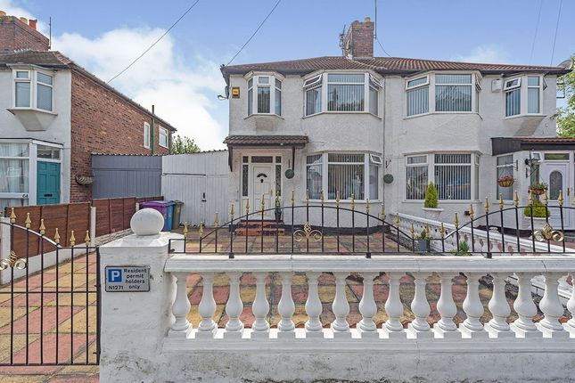 Thumbnail Semi-detached house for sale in Green Lane, Liverpool, Merseyside