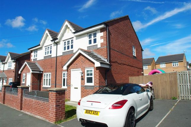 Thumbnail Semi-detached house to rent in Beechwood Drive, Prenton