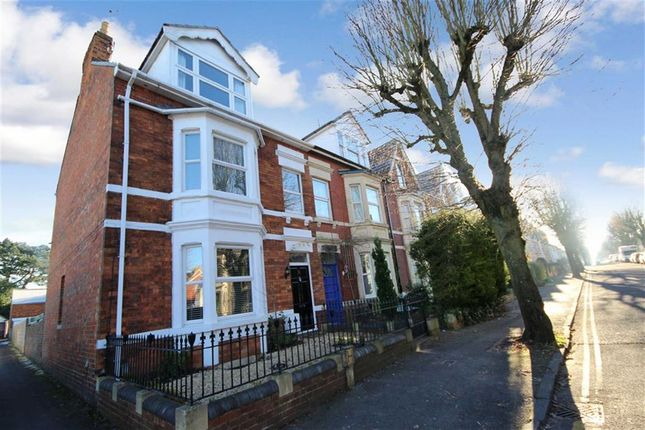 Thumbnail End terrace house for sale in Goddard Avenue, Old Town, Swindon, Wiltshire