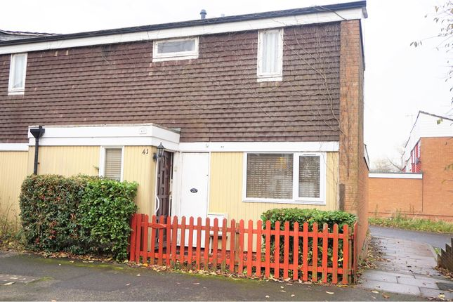 Thumbnail Terraced house for sale in Smallwood, Sutton Hill Telford
