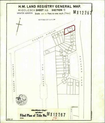 Thumbnail Land for sale in Rayners Lane, Pinner