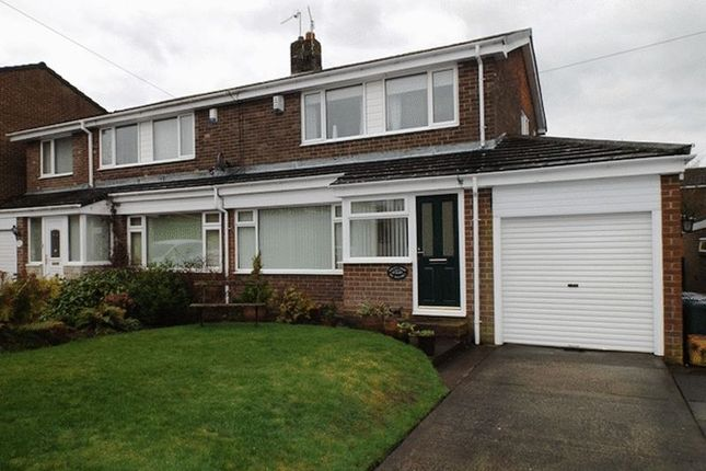 Thumbnail Semi-detached house to rent in The Pastures, Morpeth