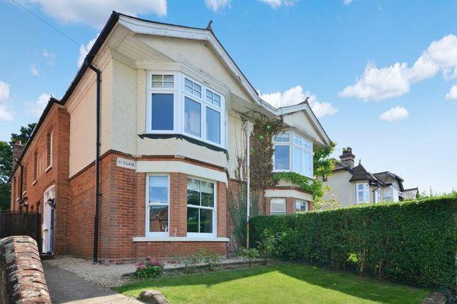 4 bed semi-detached house for sale in Greatbridge Road, Romsey