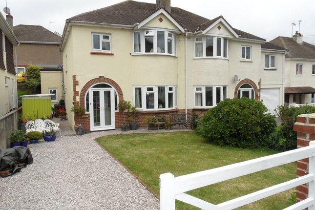 Thumbnail Semi-detached house for sale in All Hallows Road, Preston, Paignton