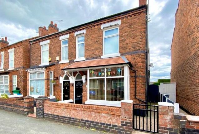 Thumbnail Semi-detached house to rent in Buxton Avenue, Crewe