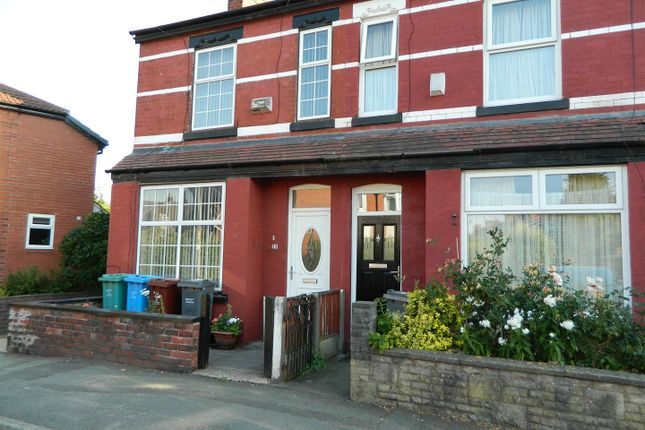 Thumbnail Terraced house to rent in Cranage Road, Levenshulme, Manchester