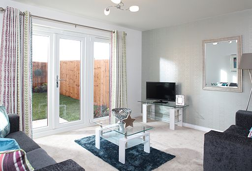 "Thumbnail Terraced house for sale in ""Aston"" at Bolton Road, Adlington, Chorley"