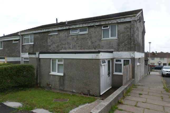Thumbnail End terrace house for sale in Stratton Walk, Plymouth