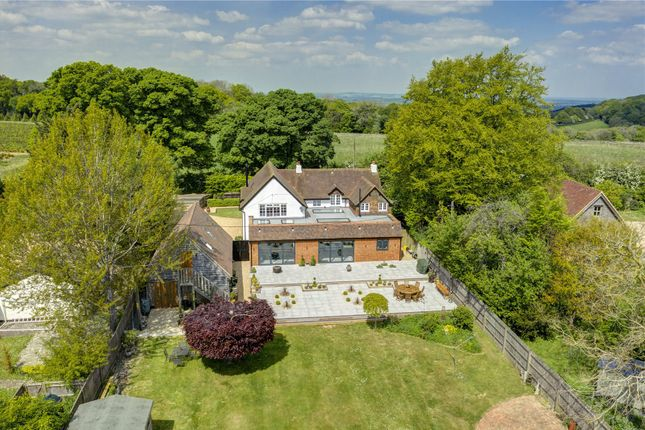 Thumbnail Detached house for sale in Greenfield, Christmas Common, Watlington