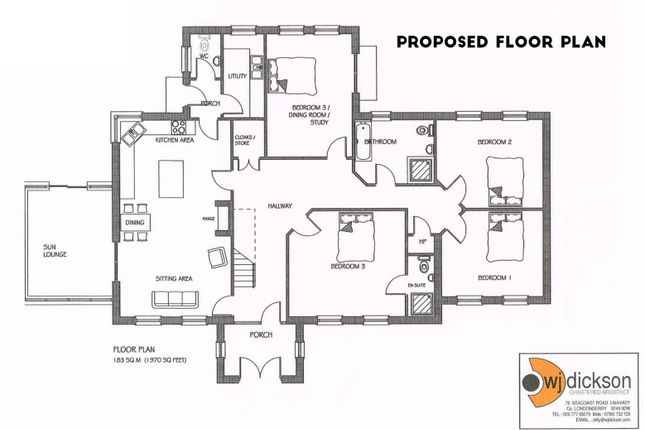 Site 1 Proposed Floor Plan