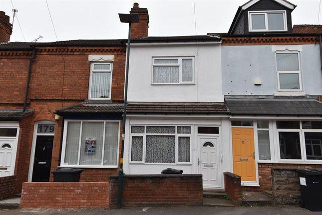 Thumbnail Terraced house for sale in Hubert Road, Selly Oak, Birmingham