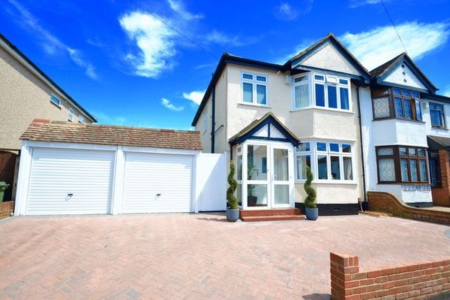 Thumbnail Semi-detached house for sale in Barrow Avenue, Carshalton