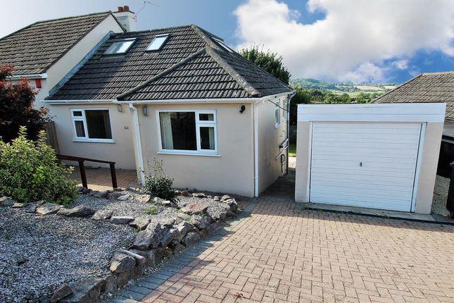 Thumbnail Semi-detached bungalow to rent in Westview Road, Marldon, Paignton