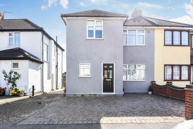 Thumbnail Semi-detached house for sale in Eyhurst Avenue, Hornchurch