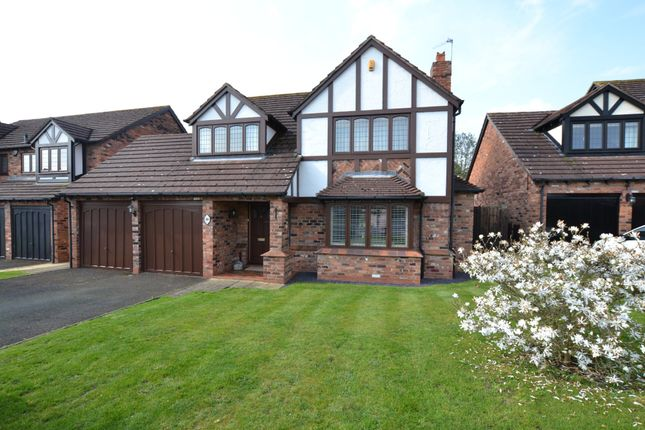 Thumbnail Detached house for sale in Sambrook Crescent, Market Drayton