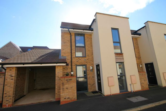 Thumbnail End terrace house for sale in Burlton Road, Cambridge