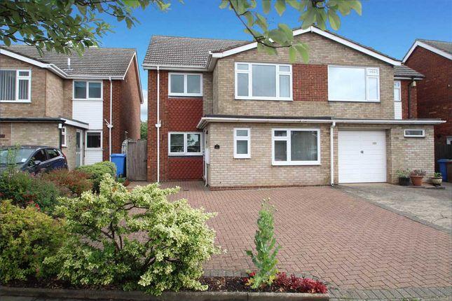 3 bed semi-detached house for sale in Defoe Road, Ipswich
