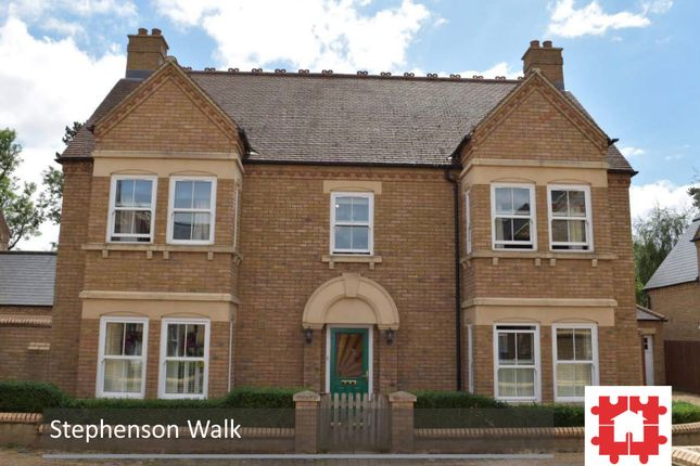 Thumbnail Detached house for sale in Stephenson Walk, Fairfield, Hitchin, Herts